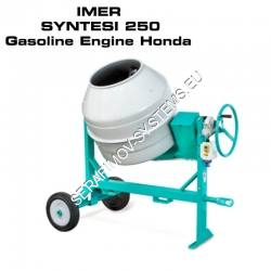 Бетонобъркачка IMER SYNTESI 250 Gasoline Engine Honda