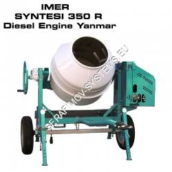 Бетонобъркачка IMER SYNTESI 350 R Diesel Engine Yanmar