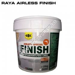 Шпакловка Raya Airless Finish фина