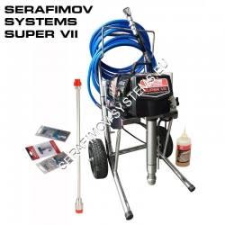 Машина за боядисване и шпакловане Serafimov Systems SUPER VII class=